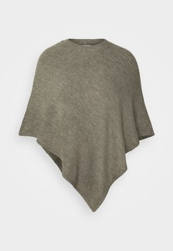 JDY - JDYELANOR PONCHO  - Cape - mermaid/melange
