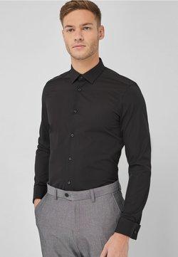 Next - CUTAWAY  - Businesshemd - mottled black