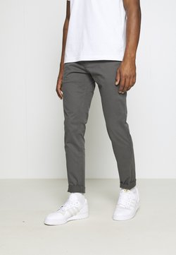 Tommy Jeans - SCANTON PANT - Chinot - dark ash