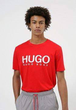 HUGO - DOLIVE - Printtipaita - open pink