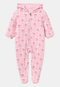 Guess - HOODED PADDED UNISEX - Mono - pink
