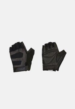 Casall - EXERCISE GLOVE MULTI UNISEX - Kurzfingerhandschuh - black