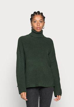 Monki - Strickpullover - green dark