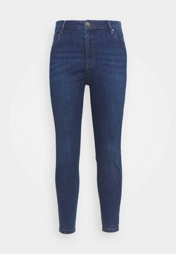 Cotton On Curve - ADRIANA HIGH SKINNY  - Jeans Skinny Fit - deep blue
