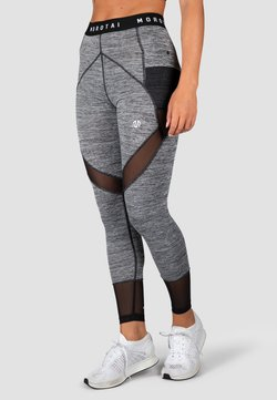 MOROTAI - SPORT MESH PERFORMANCE  - Tights - grau melange