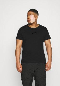 Calvin Klein Jeans Plus - PLUS MICRO BRANDING - T-shirt imprimé - ck black