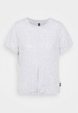 Cotton On Body - TIE UP  - T-paita - grey marle