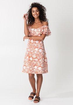 Indiska - DANNI - Vapaa-ajan mekko - orange