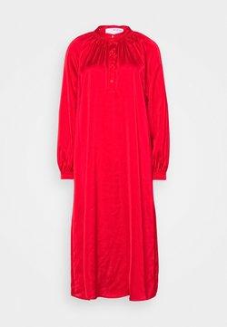 Selected Femme - SLFHARMONY DRESS - Vestido camisero - true red