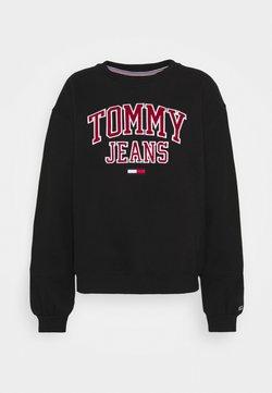 Tommy Jeans - COLLEGIATE LOGO - Sweatshirt - black