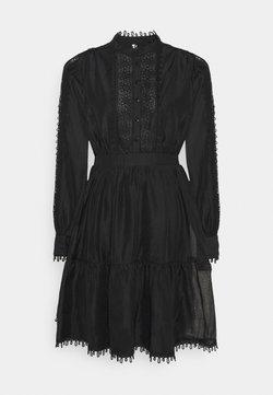 YAS - YASKEMSLEY DRESS - Blusenkleid - black