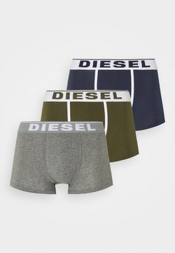 Diesel - DAMIEN 3 PACK - Panties - green/blue/grey