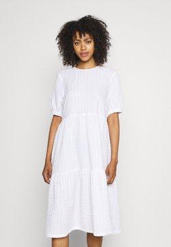 Monki - TORKIE DRESS - Sukienka letnia - white light unique