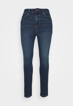 American Eagle - CURVY SUPER HIRISE JEGGING - Slim fit jeans - midnight blue