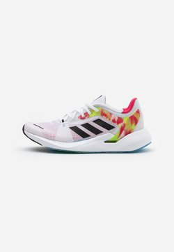 adidas Performance - ALPHATORSION - Zapatillas de running neutras - footwear white/core black/power pink