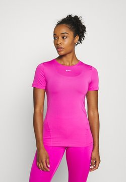 Nike Performance - ALL OVER - T-Shirt basic - active fuchsia/white