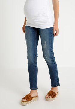 JoJo Maman Bébé - BOYFRIEND - Jeans slim fit - light blue