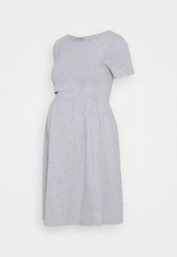 Anna Field MAMA - Jerseykleid - light grey