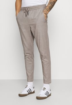 Only & Sons - ONSLINUS LIFE CHECK  - Stoffhose - chinchilla
