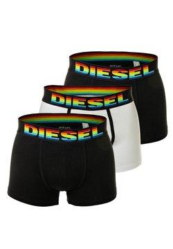 Diesel - 3 PACK - Panties - schwarz/schwarz/weiß