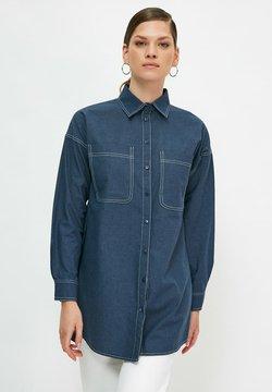 Trendyol - Camisa - navy blue