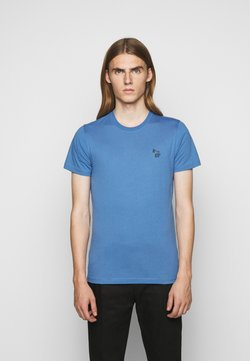 PS Paul Smith - SLIM FIT ZEBRA - T-Shirt basic - blue