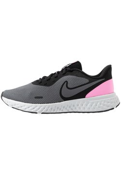 Nike Performance - REVOLUTION 5 - Juoksukenkä/neutraalit - black/psychic pink/dark grey