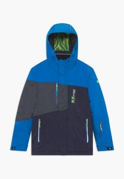 Killtec - GLENSHEE BYS - Kurtka snowboardowa - neon blue