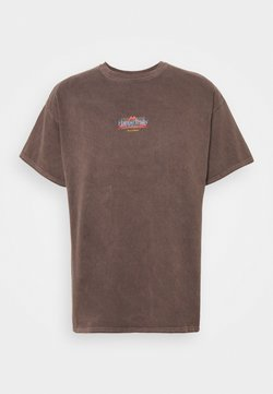 BDG Urban Outfitters - UNISEX CLIMB TEE - T-shirts med print - brown