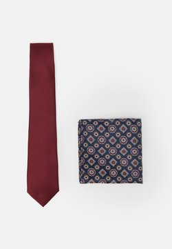 Burton Menswear London - EPP AND GEO SET - Slips - burgundy