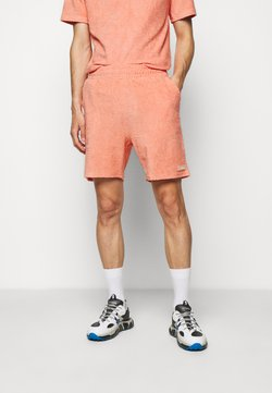 032c - TOPOS SHAVED TERRY - Shorts - neon coral