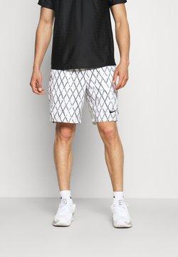 Nike Performance - Pantalón corto de deporte - white/black