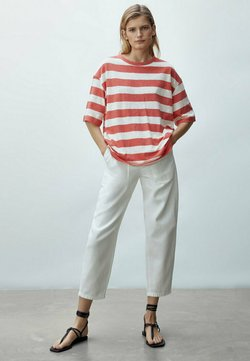 Massimo Dutti - T-Shirt print - red