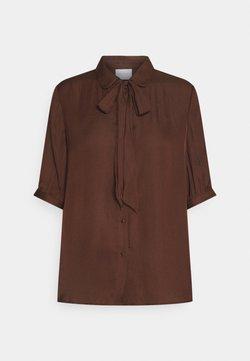 Vila - VIDREAMY BOW  - T-shirt con stampa - chocolate fondant