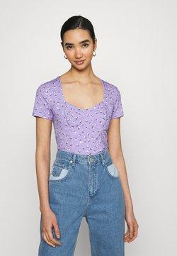 Monki - MINNIE - T-Shirt print - purple