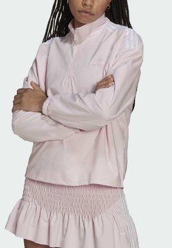 adidas Originals - HALFZIP - Felpa - pink