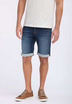 Mustang - CHICAGO - Jeans Shorts - blau