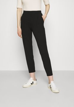 Marks & Spencer London - PLAIN TAP - Spodnie materiałowe - black