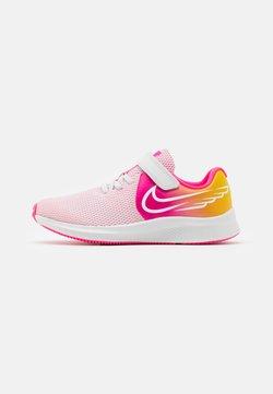 Nike Performance - STAR RUNNER 2 SUN UNISEX - Juoksukenkä/neutraalit - platinum tint/summit white/hyper pink/speed yellow