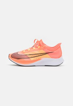 Nike Performance - ZOOM FLY 3 - Hardloopschoenen neutraal - bright mango/black/citron pulse