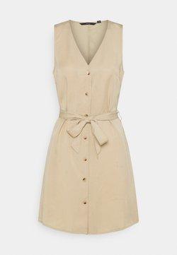 Vero Moda - VMVIVIANA  - Sukienka koszulowa - beige