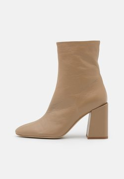 Furla - BLOCK BOOT  - Classic ankle boots - sand