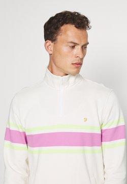 Farah - LOVE ZIP - Sweater - ecru