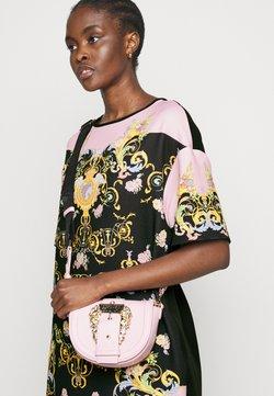 Versace Jeans Couture - LADY DRESS - Vestito estivo - black/pink confetti