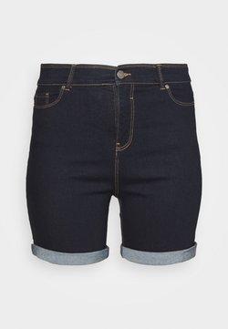 CAPSULE by Simply Be - Shorts vaqueros - indigo