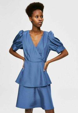 Selected Femme - ANLASS - Cocktailkleid/festliches Kleid - blue