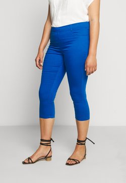 CAPSULE by Simply Be - AMBER CROP - Jegging - cobalt blue