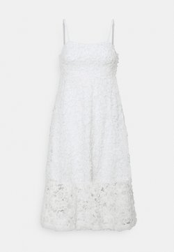 Gina Tricot - EMILIA DRESS - Cocktailkleid/festliches Kleid - offwhite