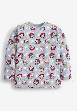 Next - DISNEY MATCHING FAMILY KIDS CHRISTMAS T-SHIRT - Camiseta de manga larga - grey
