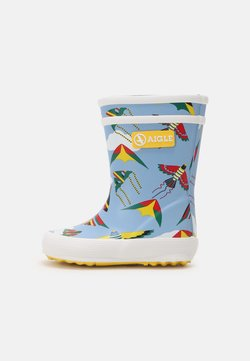 Aigle - FLAC THEME UNISEX - Gummistiefel - light blue